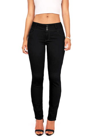 Downfall Distress Ankle Skinny Jeans