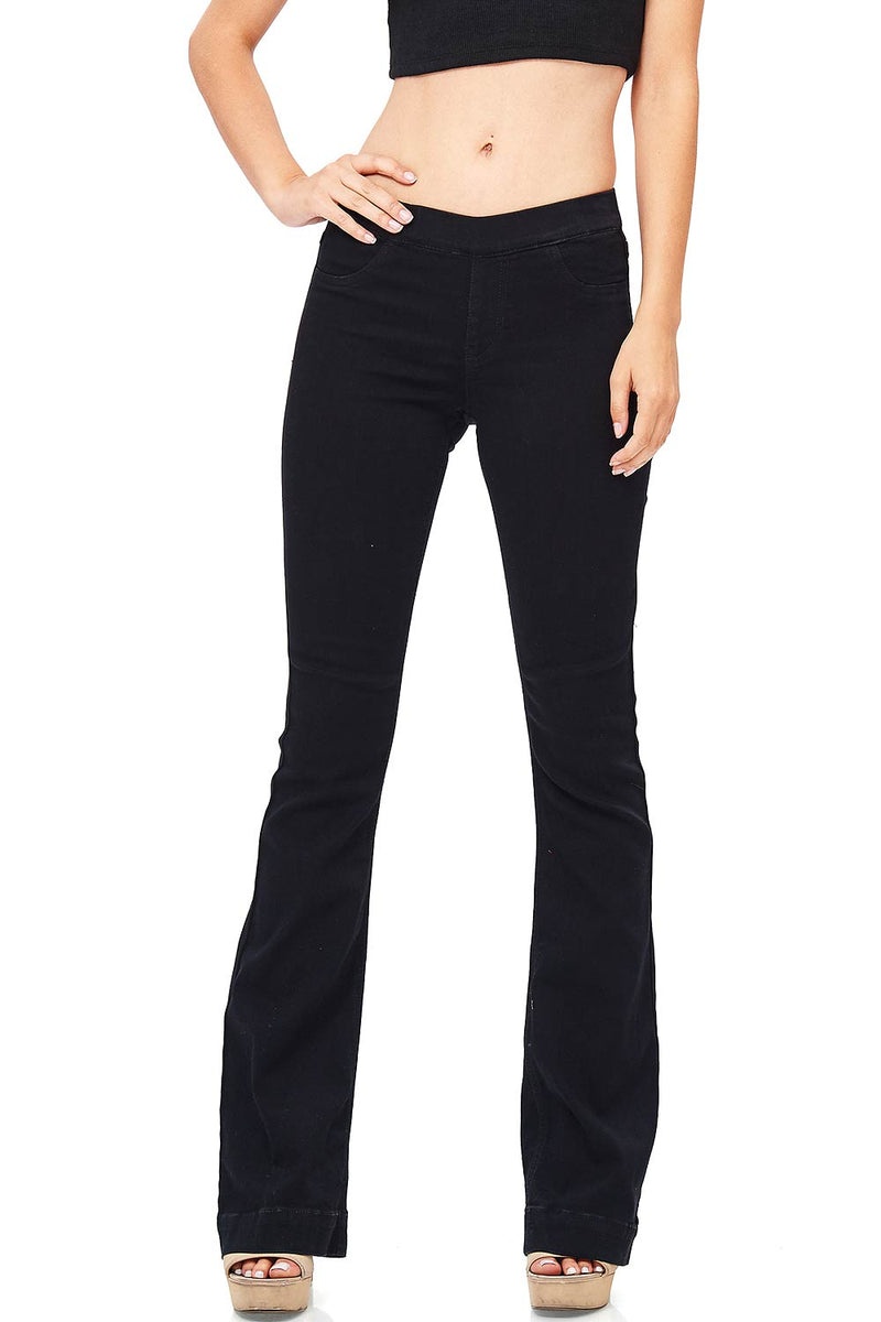Blunt Bell Bottom Pants
