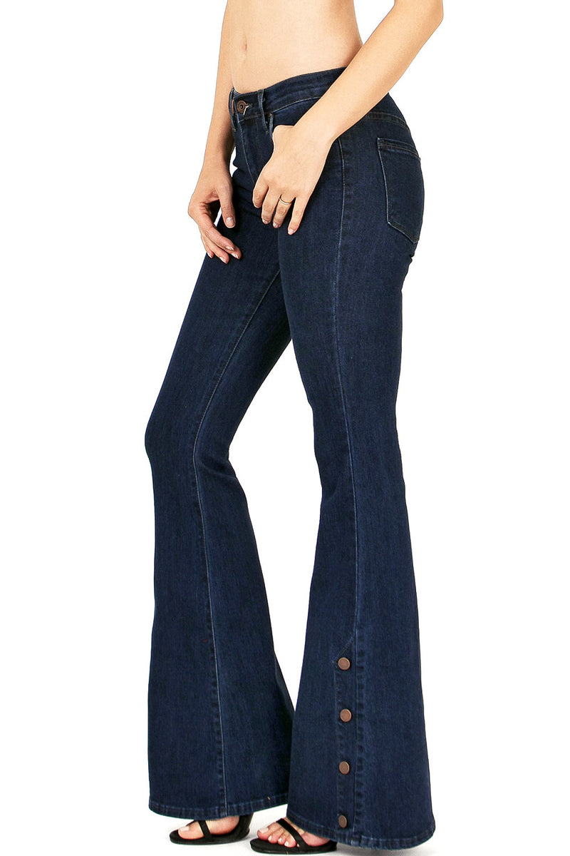 Anchor Point Bell Bottom Jeans