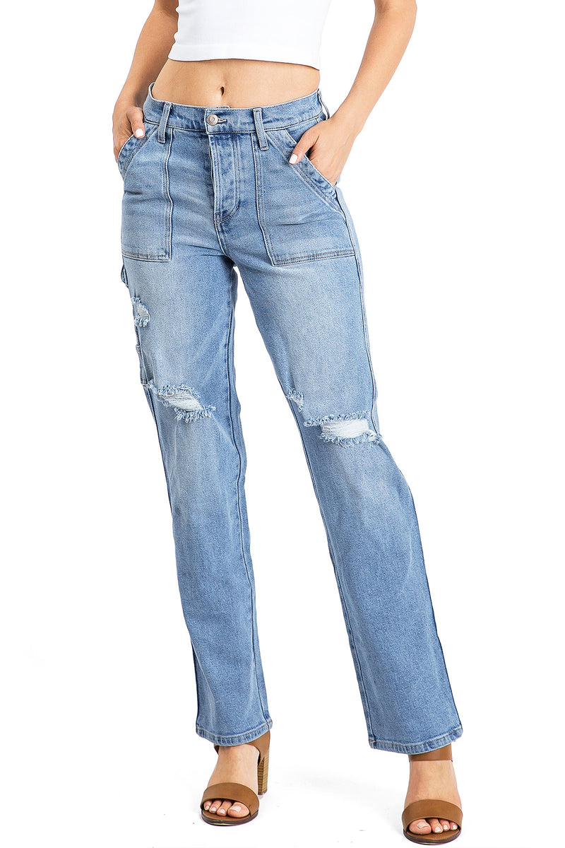 Renewal Straight Leg Jeans