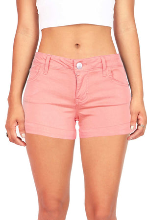 Casual Cuff Shorts