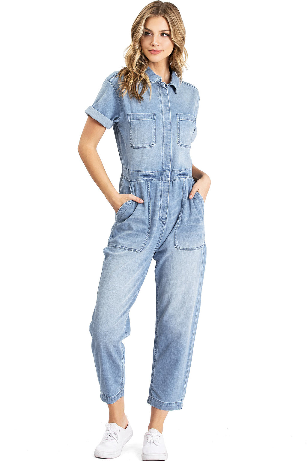 Refinery Denim Jumpsuit