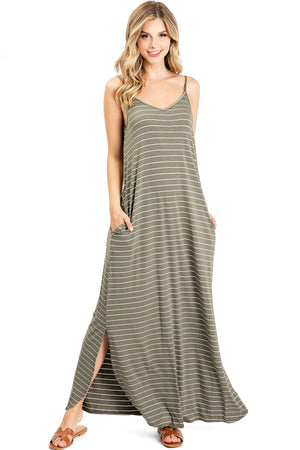 Weekender Stripe Maxi Dress