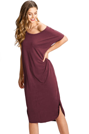 Lounge T-Shirt Dress