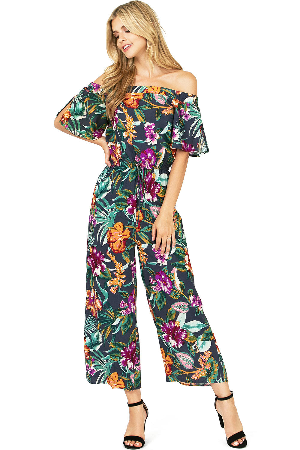 Hibiscus Bloom Jumpsuit