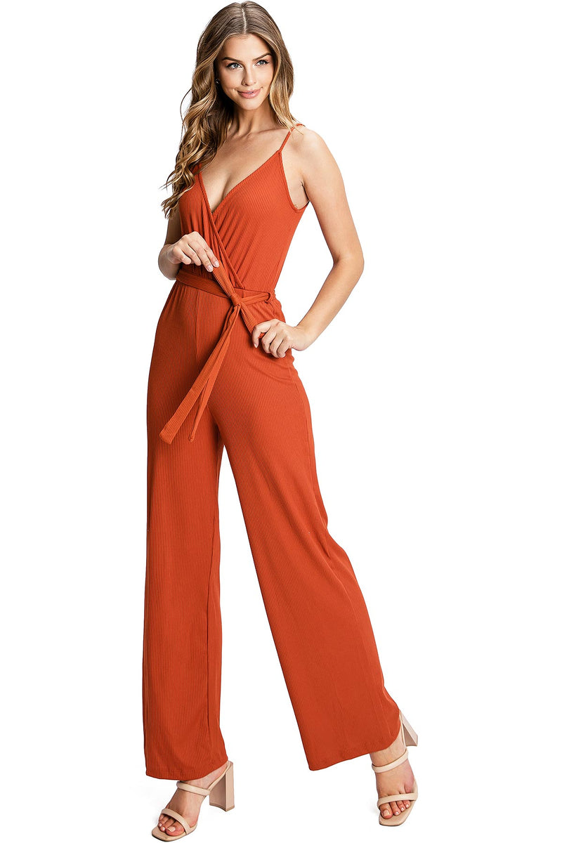 Kelsie Ribbed Jumpsuit
