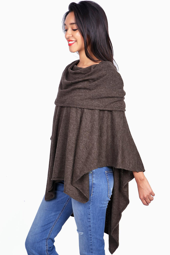 Hover Knit Poncho