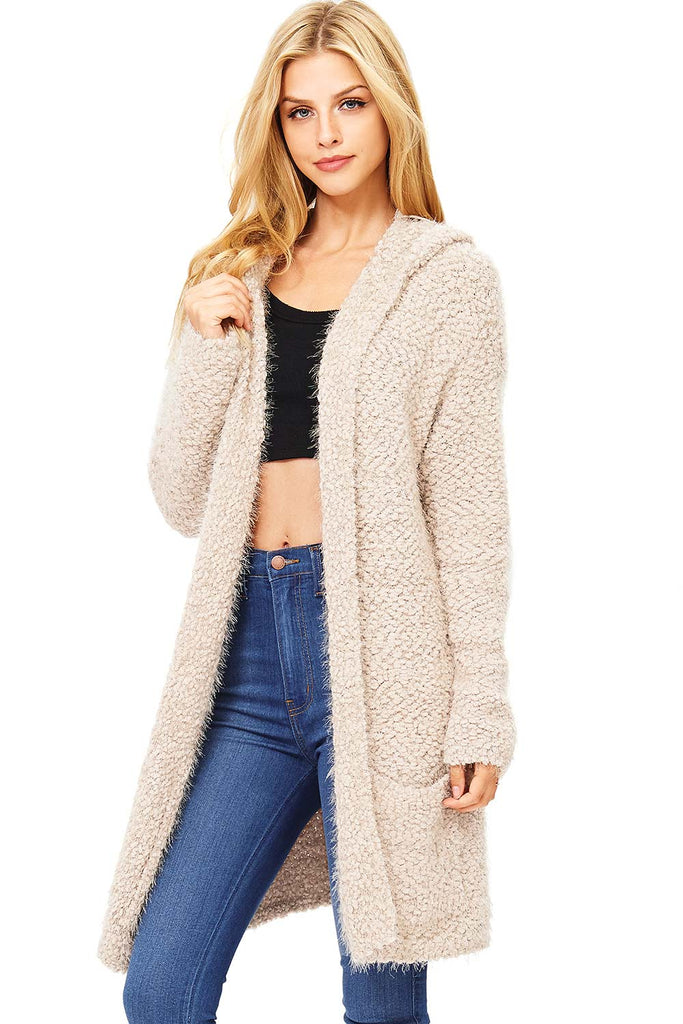 Vertigo Plush Knit Cardigan