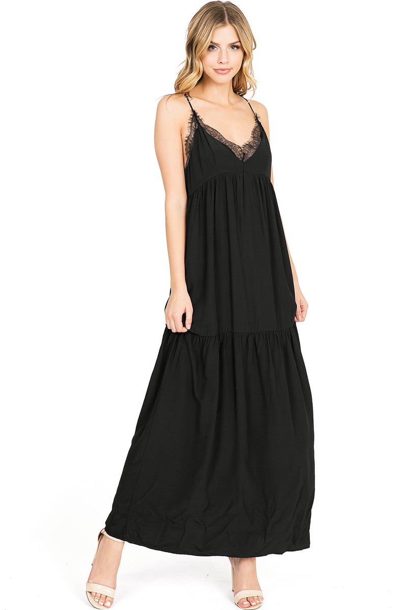 Twilight Lace Maxi Dress