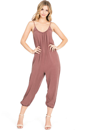 Vienna Crop Jumpsuit