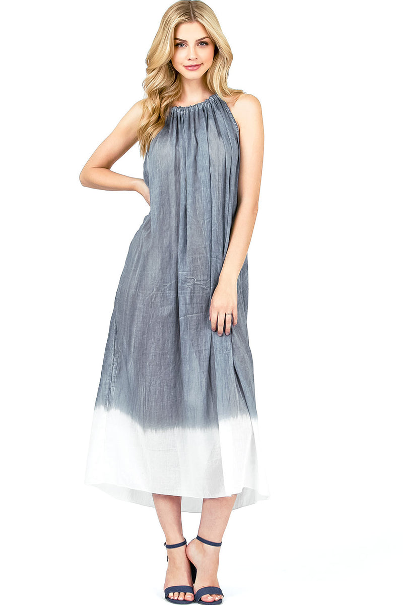 Sea Breeze Midi Dress