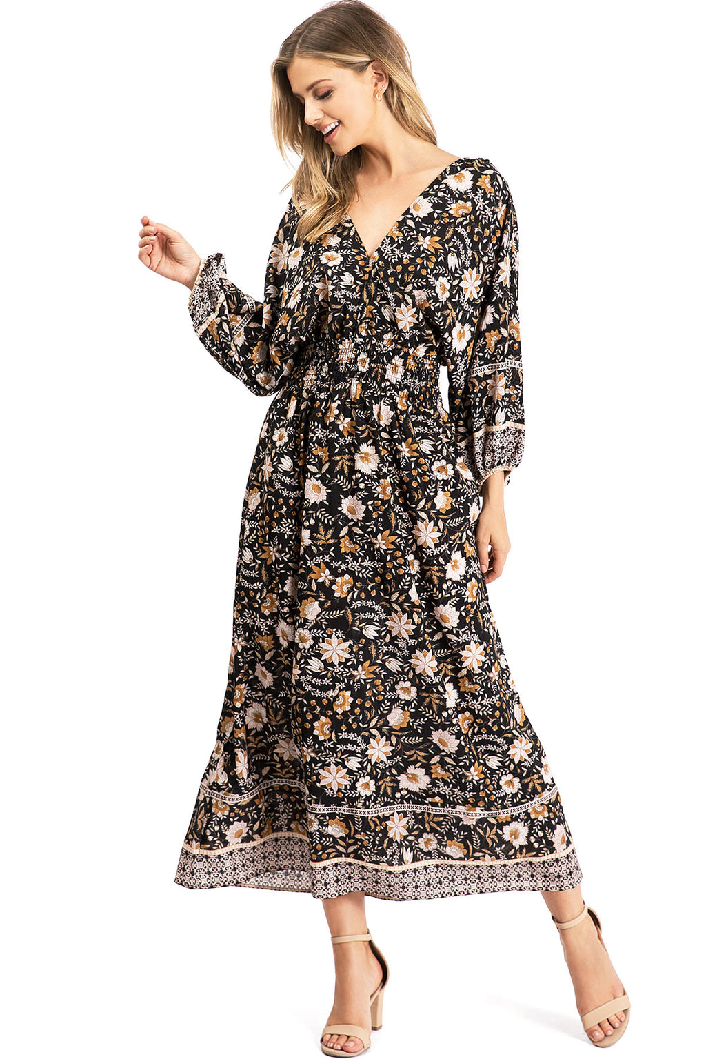 Folklore Midi Dress