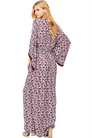 Poetic Floral Maxi Dress