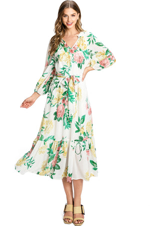 Blossom Midi Dress