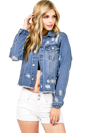 Collapse Denim Jacket
