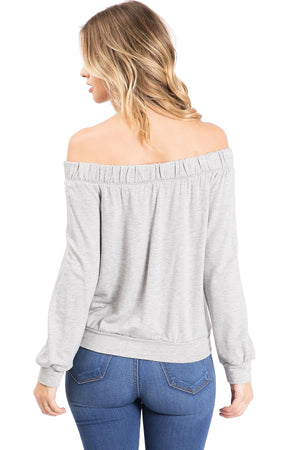 Restart Off Shoulder Top
