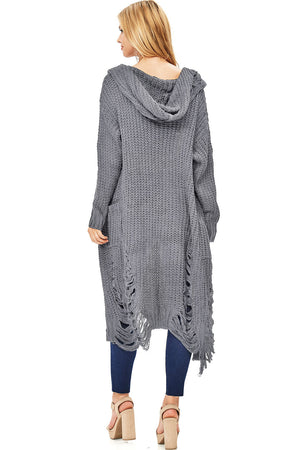 Blitz Shred Knit Cardigan