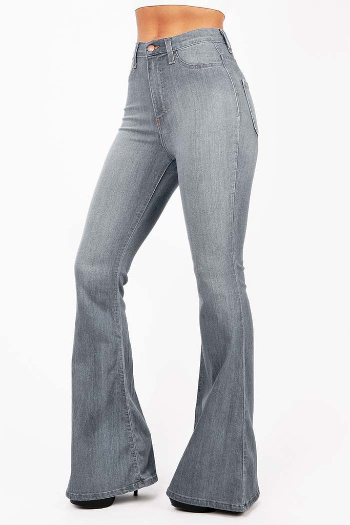 Jango Flared High Waist Bell Bottom Jeans