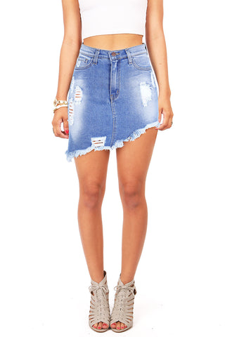 Replicate Fray High Waist Shorts