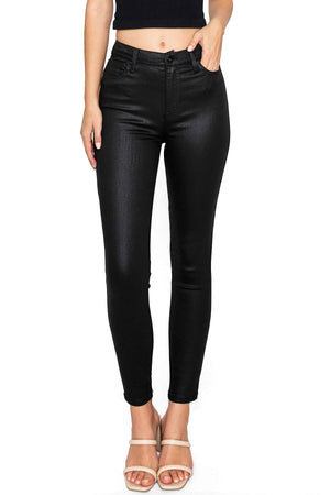 KENDALL + KYLIE Coated Kontour High Rise Skinnys