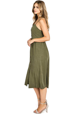 Swept Away Midi Dress