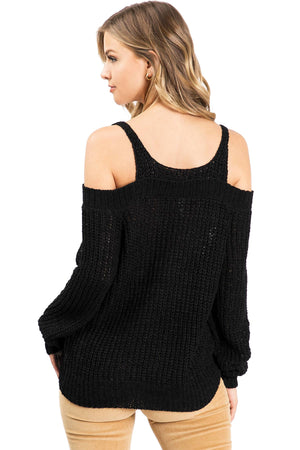 Reform Cold Shoulder Knit