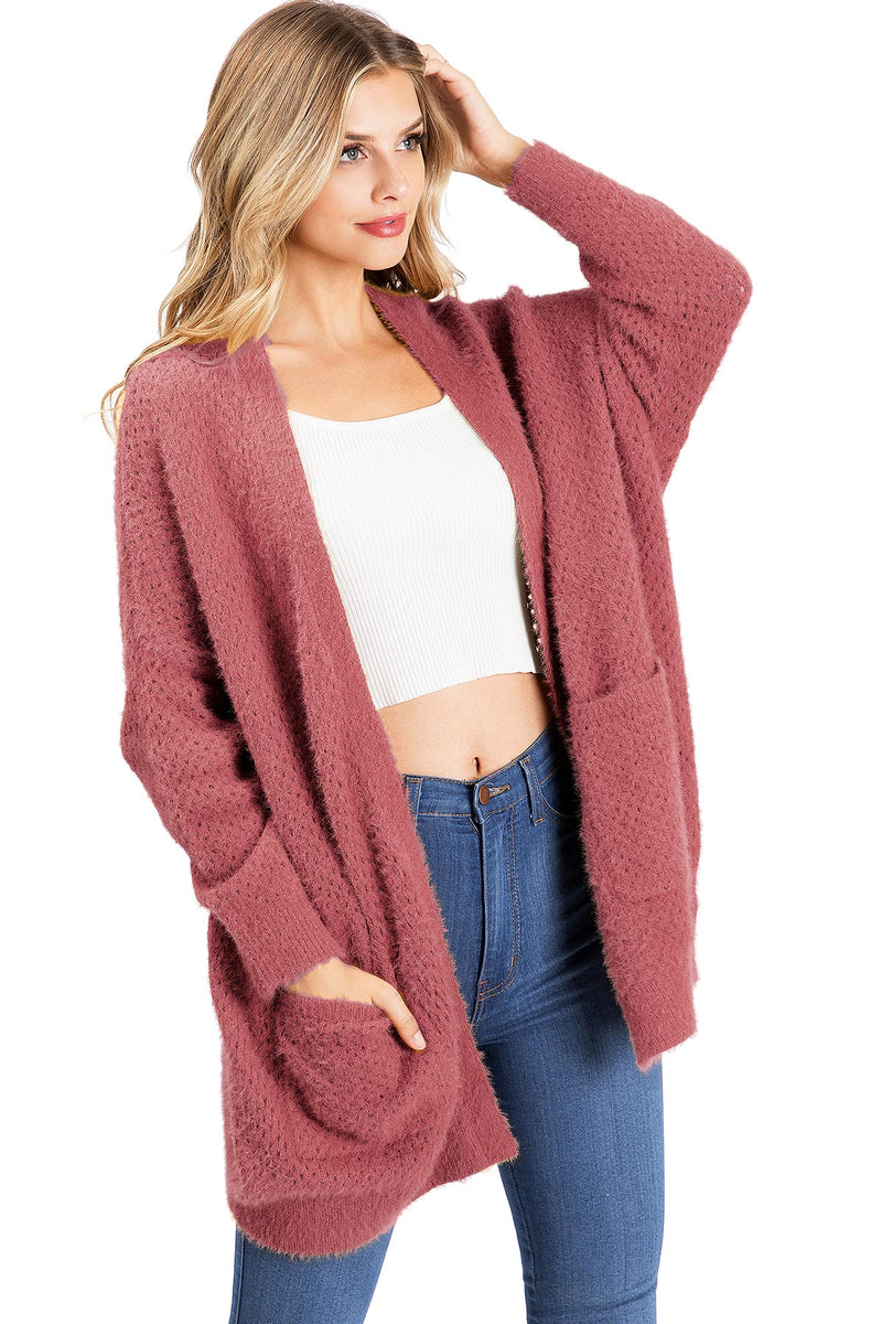 Chill Eyelash Cardigan