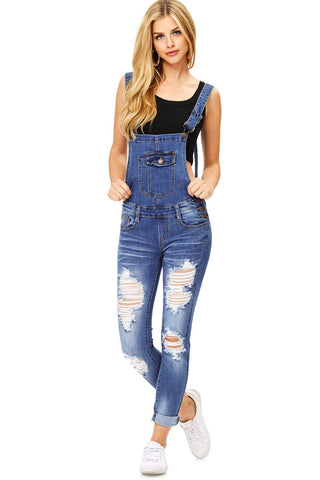 Mayhem Denim Short Overalls