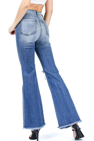 Light Wave Flare Jeans