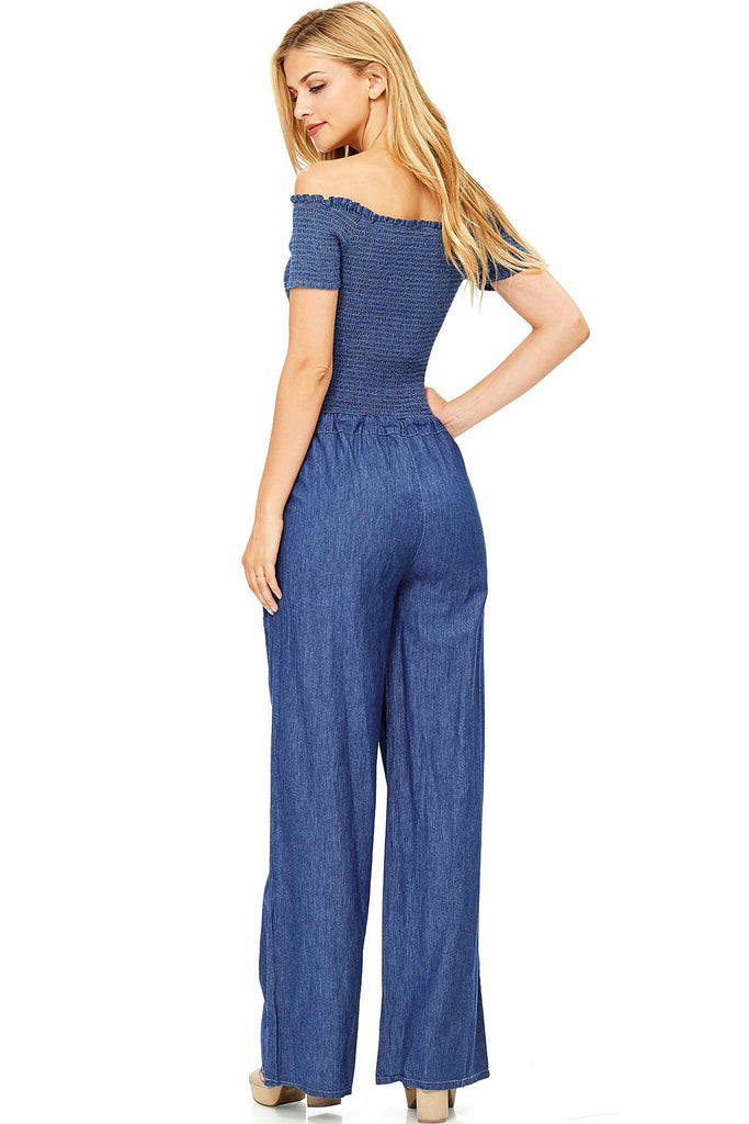 Vintage Chambray Jumpsuit