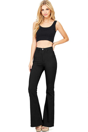 Jango Flared High Waist Bell Bottom Pants