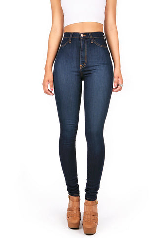 City Sleek Denim Bell Bottoms