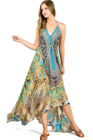 South Beach Jewel Maxi Dress