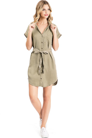 Light Trek Shirt Dress