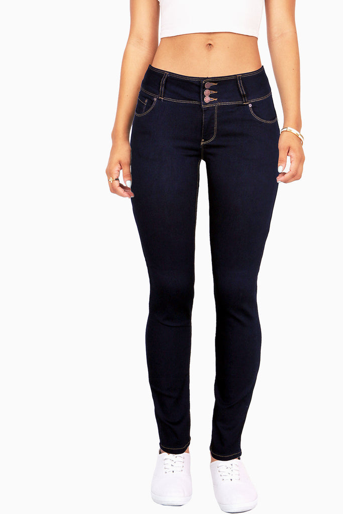 Stacked Trio Skinny Jeans