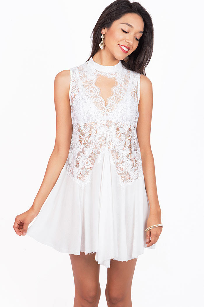 Sunkissed Lace Dress