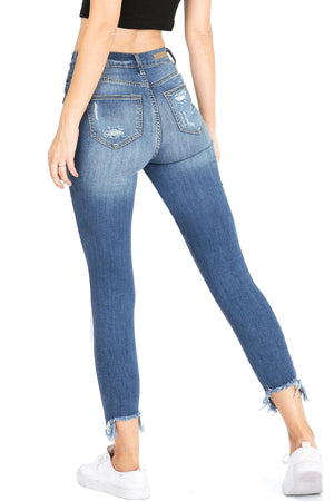 Riot High Rise Skinny Jeans