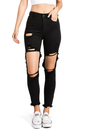 Blackout Ripped Jeans