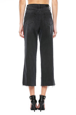 Asher Wide-Leg Denim