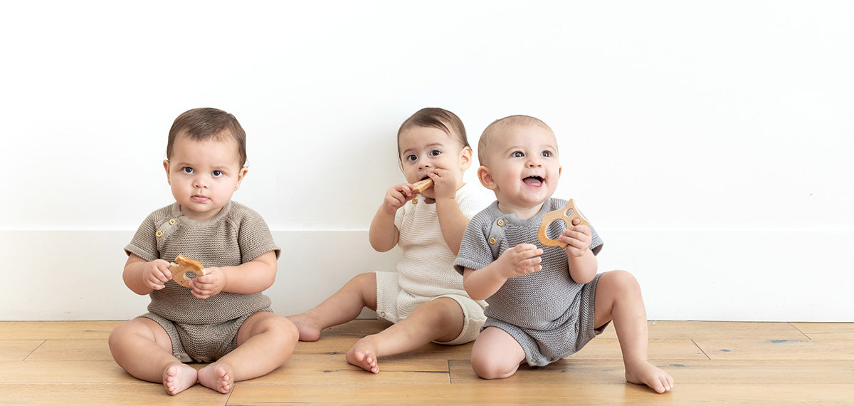 Organic Cotton Clothing online store, Zestt Organics: organic baby rompers