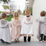 Organic Cotton Kids Travel Blanket