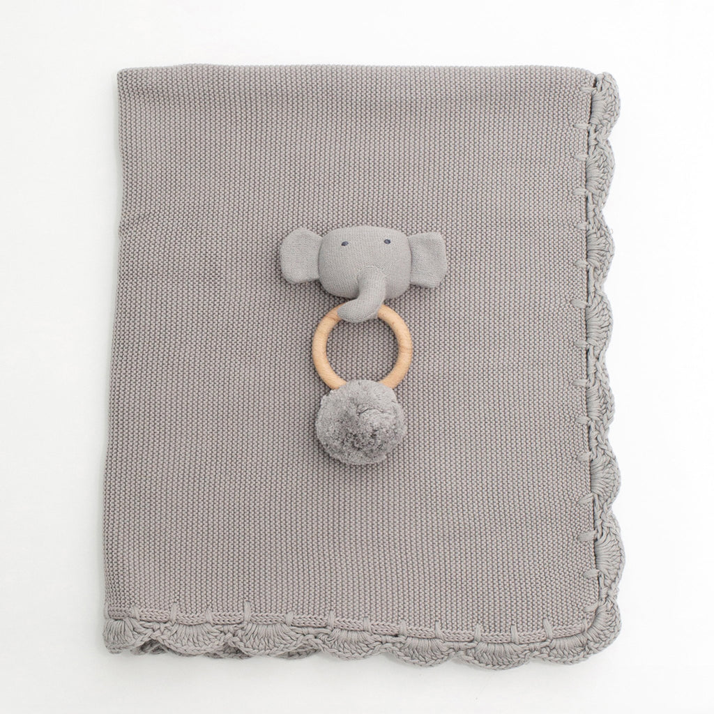 Organic Cotton Heirloom Baby Gift Set