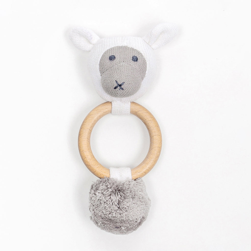 Organic Cotton Rattle
