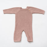 Organic Cotton Classic Knit Baby Romper