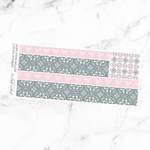 Espresso Society Bottom Washi Add On Sticker Sheet