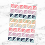 Pastel Payday Corner Tab Sticker Sheet