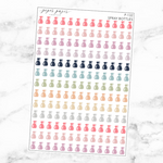 Pastel Spray Bottle Sticker Sheet