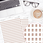Hazelnut Spread Deco Sticker Sheet