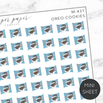 Oreo Cookies Mini Deco Sticker Sheet