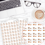 Pill Bottle Mini Deco Sticker Sheet
